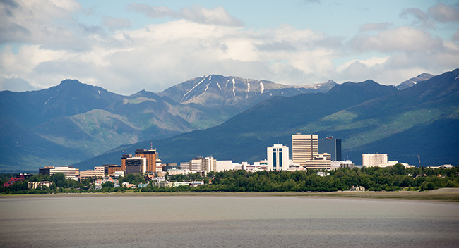 Anchorage Skyline.