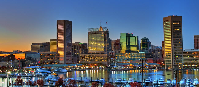 what is the capital of baltimore maryland
