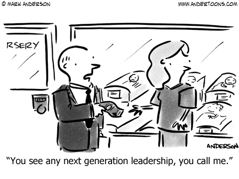 Next Generation Leadership.