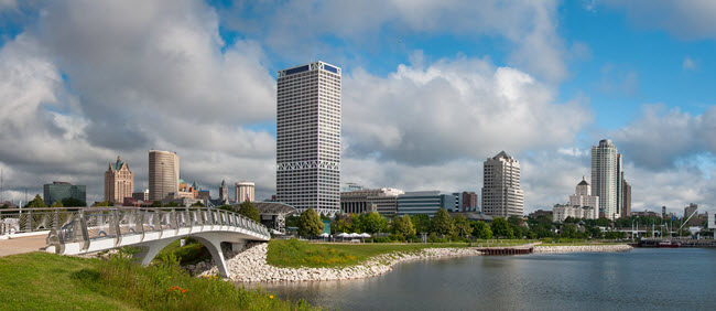 Milwaukee Skyline.