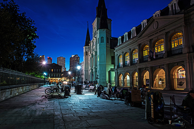 New Orleans at Night.