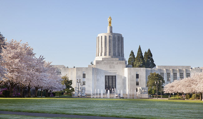 Oregon Capitol Building.