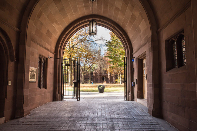 Phelps Gate at Yale University.