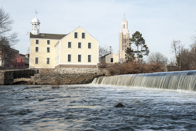 Slater Mill in Pawtucket, Rhode Island.