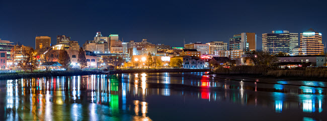Wilmington Skyline.